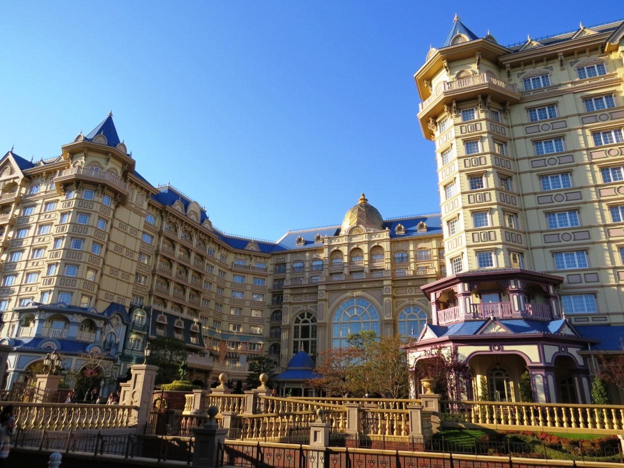 ディズニーランドホテルを混雑するクリスマスシーズンに予約できました